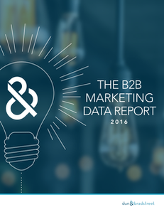 Power up Your Strategy with D&B's 2016 B2B Marketing Data Report