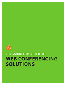 The Marketer's Guide to Web Conferencing Solutions