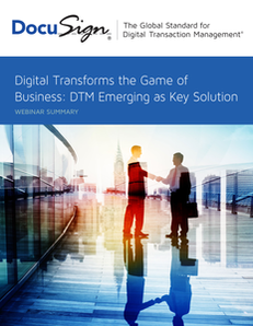 Digital Transforms the Game of Business: DTM Emerging as Key Solution