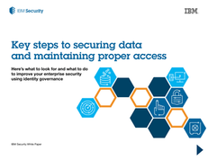 Key Steps to Securing Data and Maintaining Proper Access