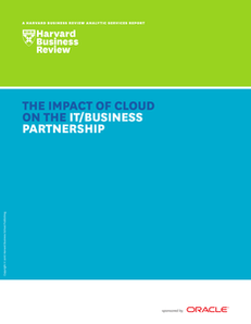 The Impact of Cloud on the IT/Business Partnership
