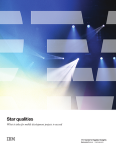 Star Qualities: What It Takes for Mobile Development Projects to Succeed