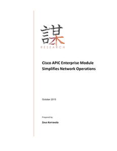 Cisco APIC Enterprise Module Simplifies Network Operations