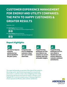 Customer Experience Management For Energy Companies: The Path to Happy Customers & Greater Results