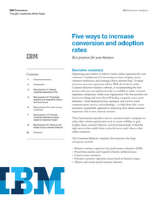 5 Ways to Increase Conversion and Adoption Rate