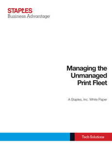Are You Stuck in Break/Fix Mode? How to Manage the Unmanaged Print Fleet