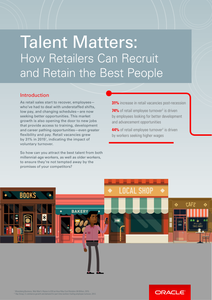 Retail – Talent Matters: How Retailers Can Recruit and Retain the Best People