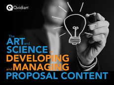 The Art and Science of Developing and Managing Proposal Content