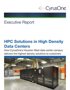 HPC Solutions in High Density Data Centers