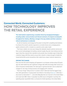 Connected World, Connected Customers: How Technology Improves the Retail Experience