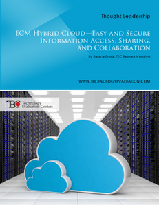 ECM Hybrid Cloud: Easy and Secure Information Access, Sharing, and Collaboration