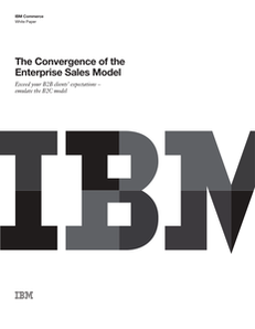 The Convergence of the Enterprise Sales Model