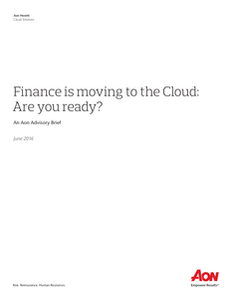 Finance is moving to the Cloud: Are you ready?