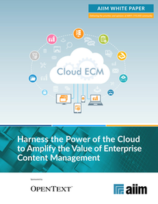 Amplify the value of ECM with the Cloud