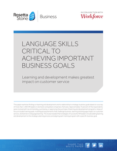 Language Skills Critical to Achieving Business Goals