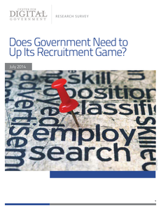 Survey: Does Government Need to Up Its Recruitment Game?