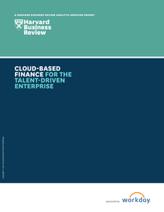 Harvard Business Review Analytic Services Cloud Finance Study