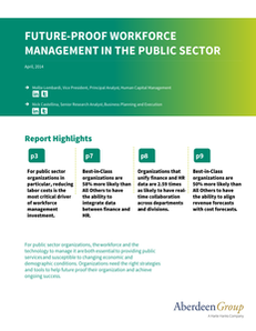 Aberdeen Group Report: Future-Proof Workforce Management in the Public Sector