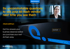 6 Uncomfortable Questions to ask your All-flash Vendor