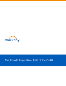 The Growth Imperative: Role of the CHRO
