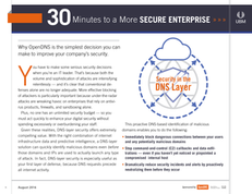 Why a DNS Layer Matters: 30 Minutes to a More Secure Enterprise