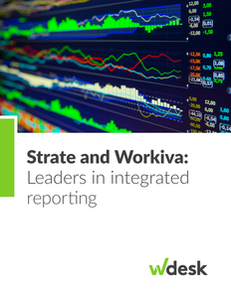 Strate and Workiva: Leaders in integrated reporting