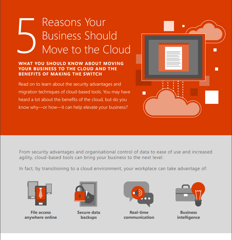 5 Reasons Your Business Should Move to the Cloud