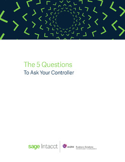 The Top 5 Questions To Ask Your Controller