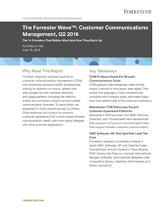 OpenText named leader in Customer Communications Management