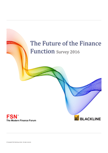 2016 Survey: The Future of the Finance Function