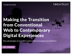 Making the Transition from Conventional Web to Contemporary Digital Experiences