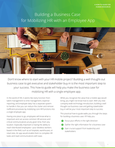 Building a Business Case for Mobilizing HR with an Employee App