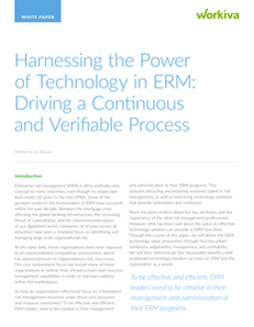 Increase the Value of Your ERM Function with the Right Technology