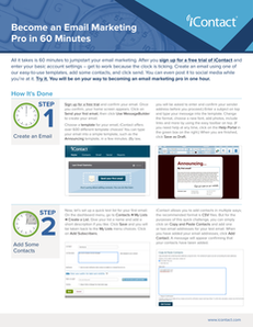 Become an Email Marketing Pro in 60 Minutes