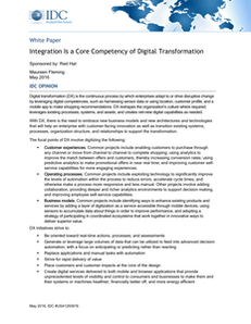 Integration Is a Core Competency of Digital Transformation