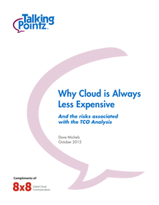 Why Cloud is Always Less Expensive and TCO Analysis