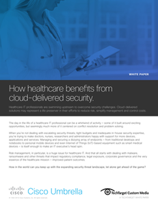 How healthcare benefits from cloud-delivered security
