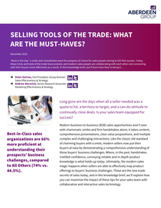 Selling Tools Of The Trade: What Are The Must-Haves?