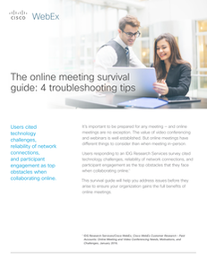 The Online Meeting Survival Guide: 4 Troubleshooting Tips