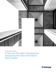 Service Provider's Perspective: Designing the Next Generation Data Center
