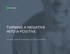 Turn a Negative Into a Positive