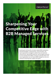Sharpening Your Competitive Edge with B2B Managed Services