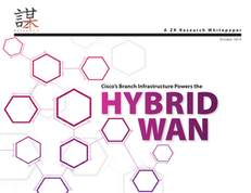 Cisco Branch Infrastructure Powers the Hybrid WAN