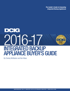 DCIG 2016-17 Integrated Backup Appliance Buyer's Guide