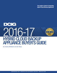 DCIG 2016-17 Hybrid Cloud Backup Appliance Buyer's Guide