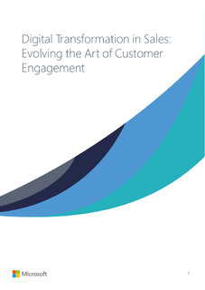 Digital transformation in sales: evolving the art of customer engagement eBook