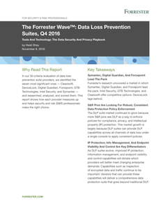 The Forrester Wave: Data Loss Prevention Suites, Q4 2016