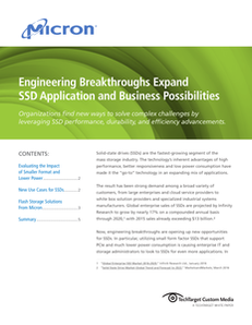 Engineering Breakthroughs Expand SSD Application and Business Possibilities