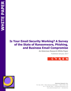 Is Your Email Security Working?