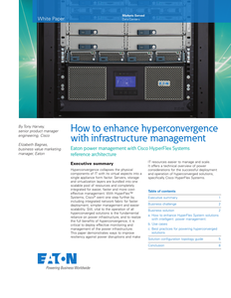 How to Enhance Hyperconvergence With Infrastructure Management